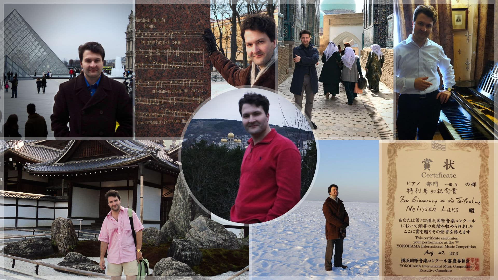 Collage after study Lars Nelissen